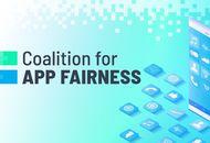 Logo de Coalition for app fairness