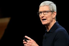 Tim Cook réfute les actions de Bloomberg.
