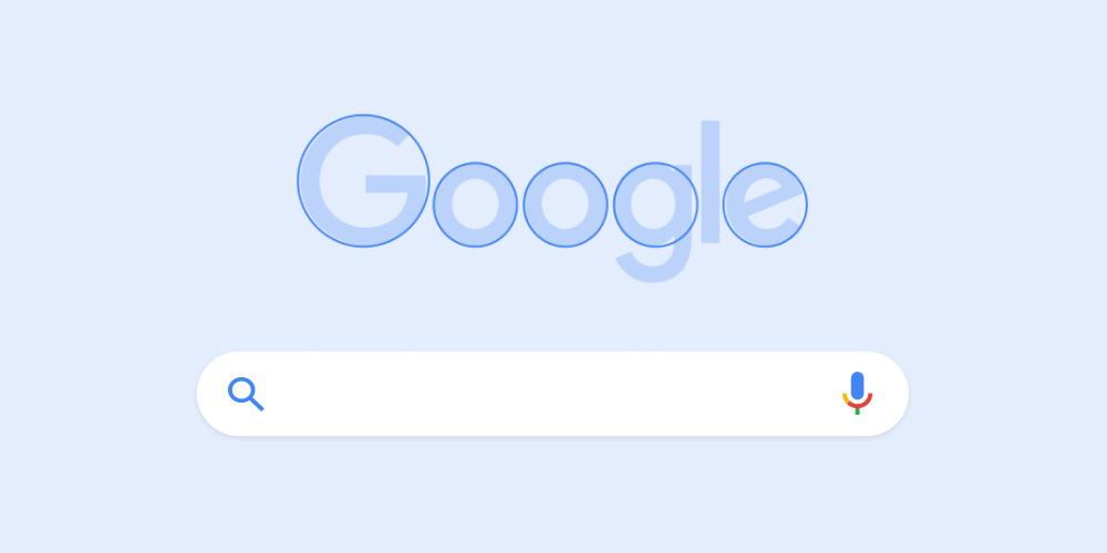 Le logo Google est arrondi