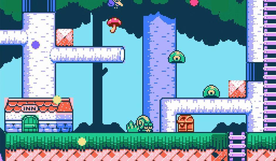 Orange Island le jeu en 8-bit sur Nes et Switch