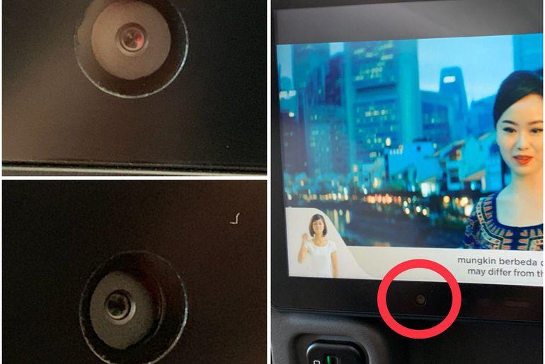 Des caméras sur les sièges Americain Airlines
