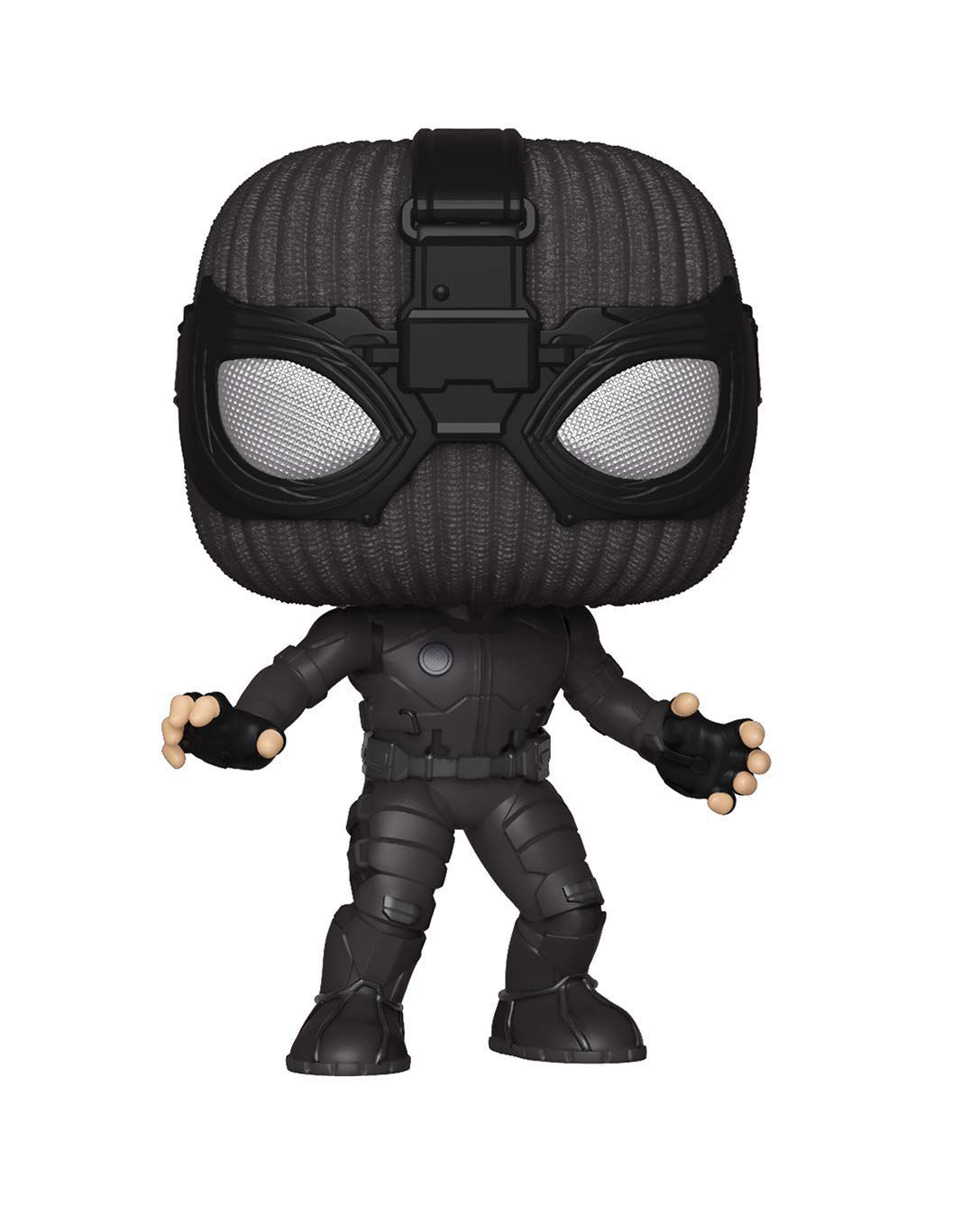 figurine spider-man costume noir funko pops