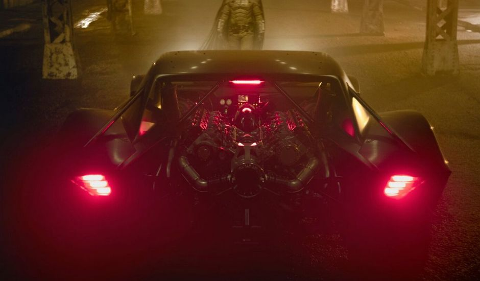 batmobile robert pattinson the batman