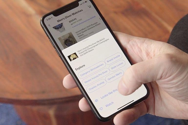 eBay lance une fonctionnalité vous permettant de retrouver des articles et des produits via l'intelligence artificielle