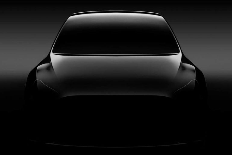 La Tesla Model Y sera dévoilé le 14 mars prochain.