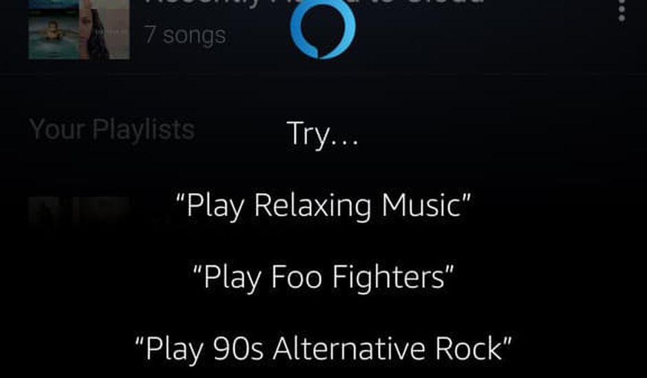 Amazon Music et Alexa