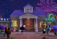 Les habitants d'Animal Crossing : New Horizons profitent des feux d'artifice