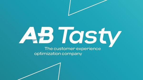 Le logo d'AB Tasty, spécaliste français de l'optimisation utilisateur