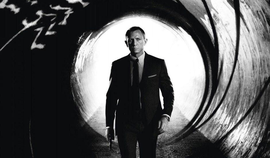 Une image du tournage de Bond 25