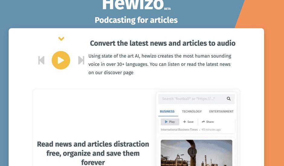 extrait du site Hewizo