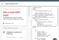 google amp test