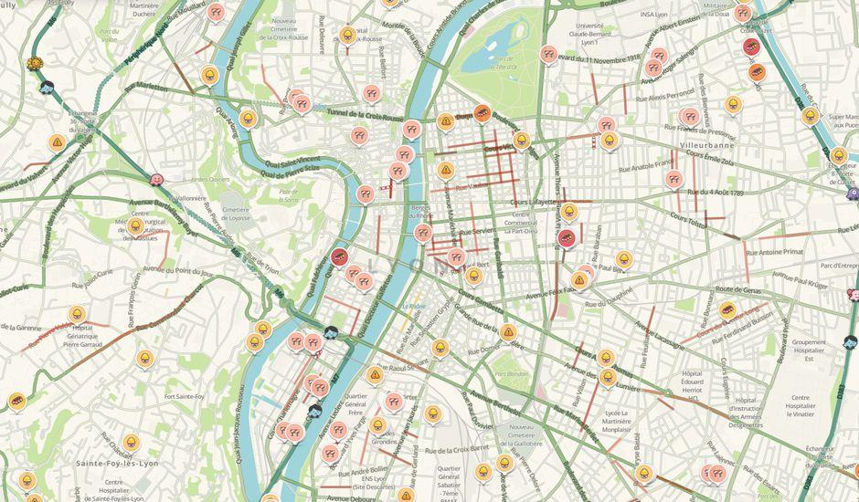 waze carte en temps réel Smart City : Waze pour les villes simplifie la collecte de données