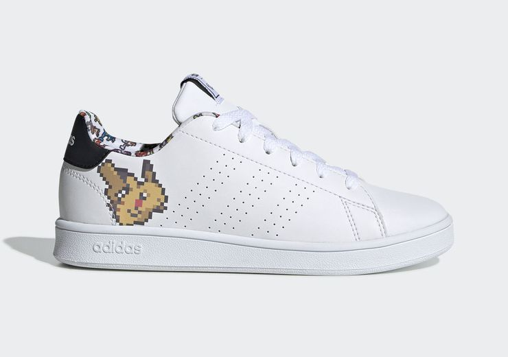 pokemon adidas baskets pixel