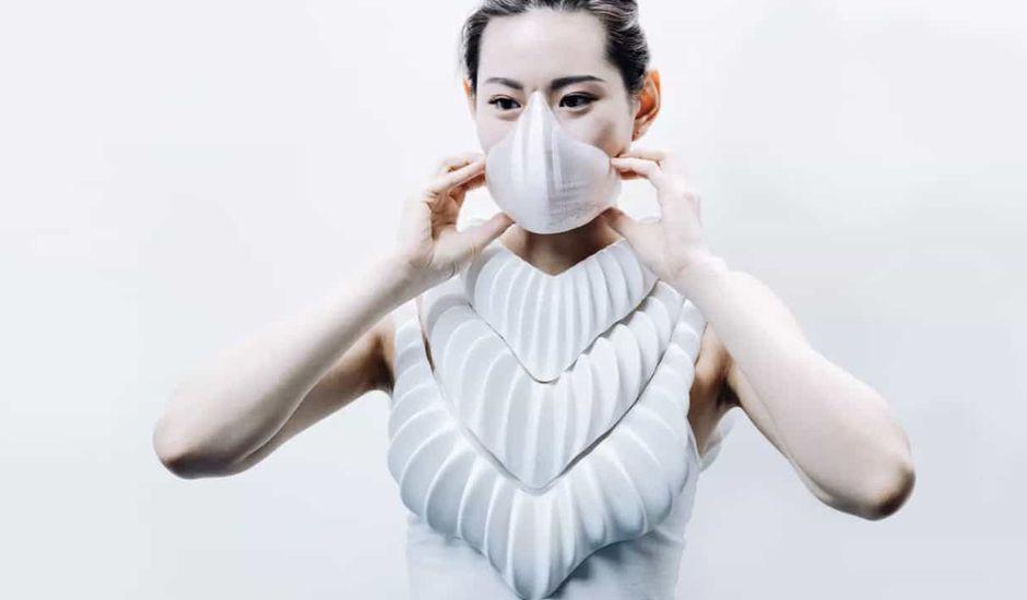 Amphibio : une chemise imprimée en 3D qui permet de respirer sous l'eau