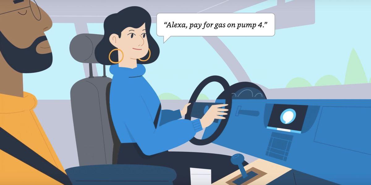 Les Américains pourront bientôt payer leur plein de carburant avec Alexa