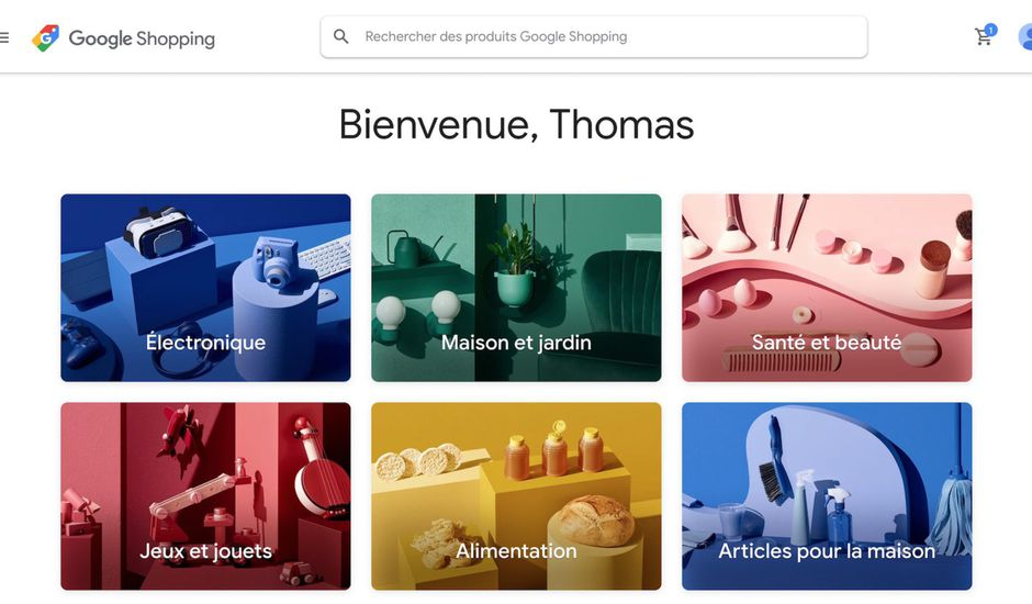 Google annonce Shopping Actions