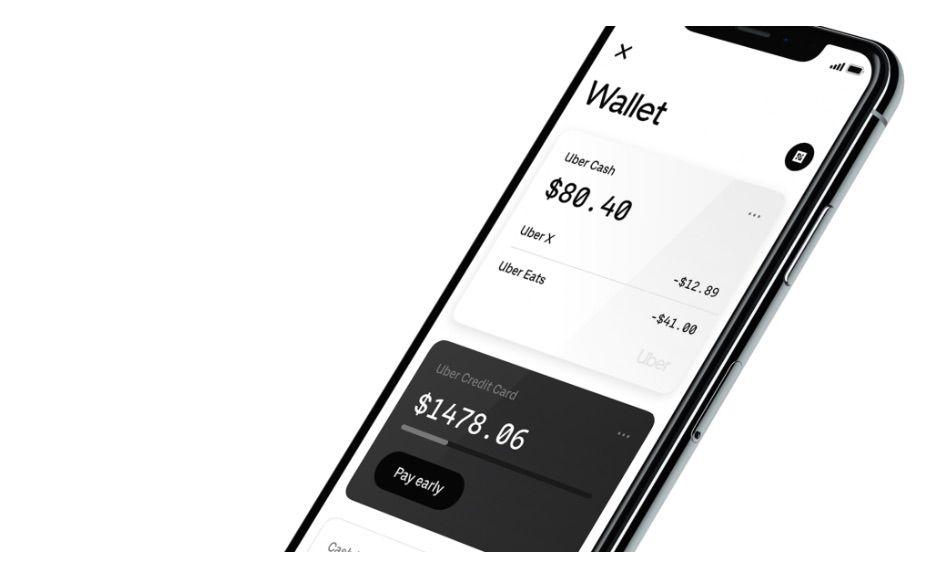aperçu d'Uber Wallet