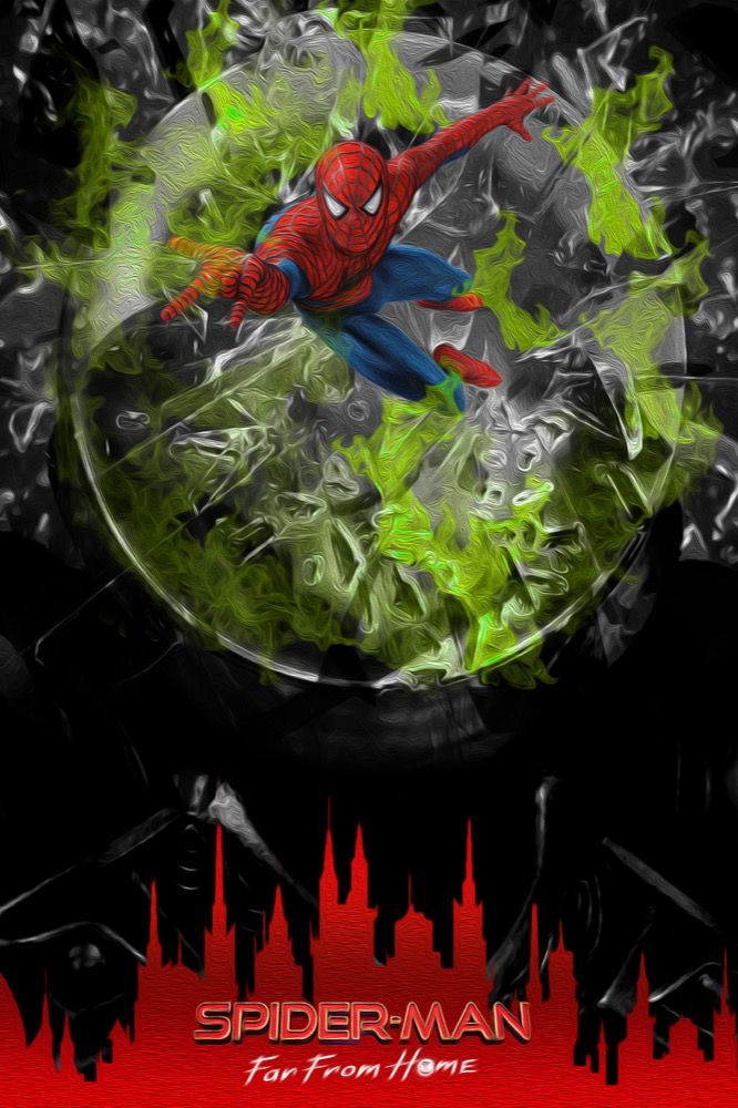Fan art Spider-Man : Far From Home