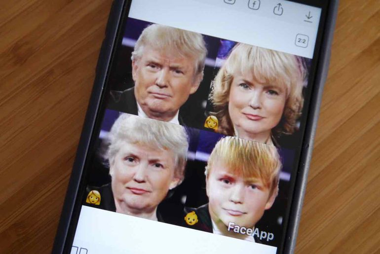 L'application de vieillissement qui inquiète — FaceApp