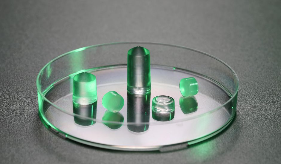 Un échantillon d'hydrogel créé par les chercheurs