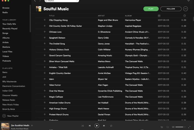 Soulful Music Spotify