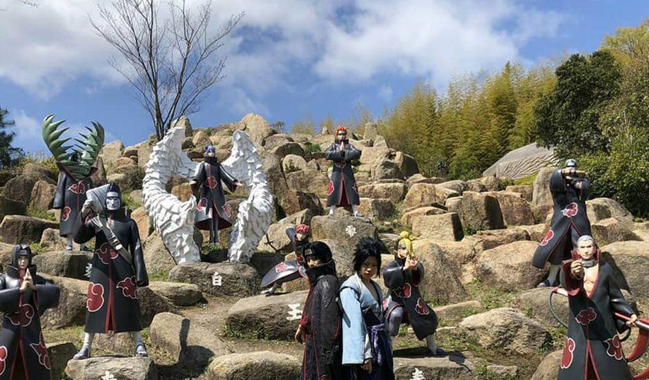 parc à thème naruto et boruto japon