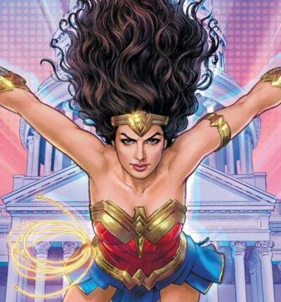 Couverture du comics Wonder Woman 1984