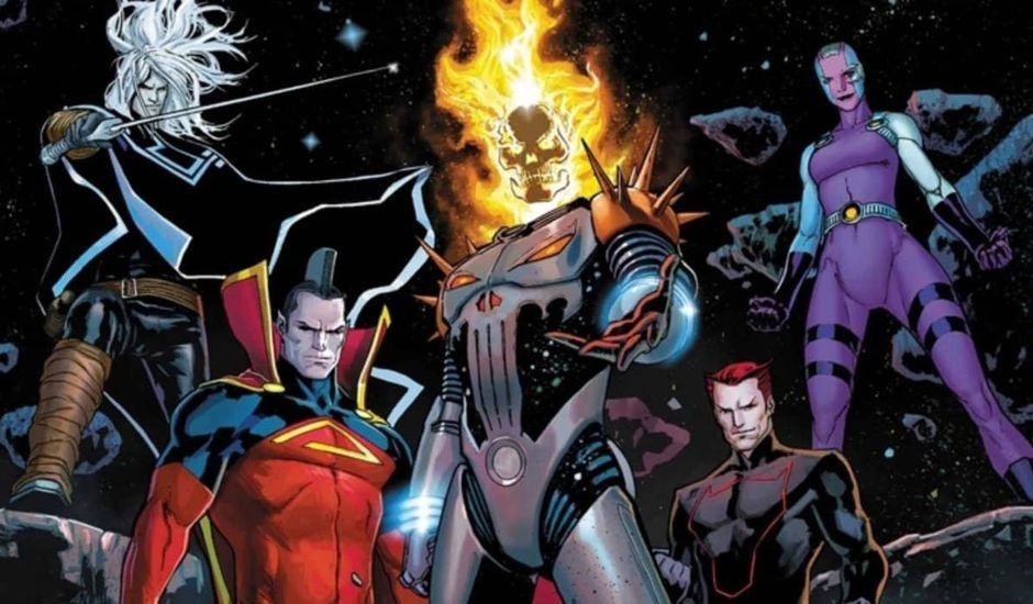Dark Guardians anti-héros Marvel