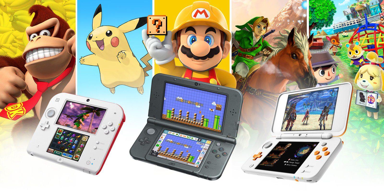 nintendo 3DS différents modèles