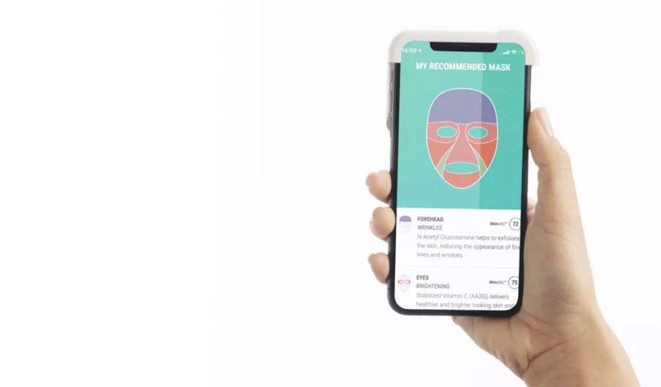 Grâce à une application, Neutrogena va vous permettre d'imprimer des masques faciaux en 3D correspondant à votre peau