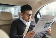 passager dans un Uber