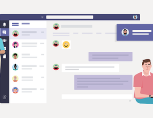 Microsoft Teams lance une gigantesque campagne de communication.