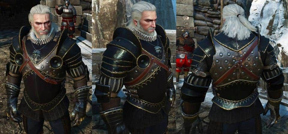 Armure soldat The Witcher
