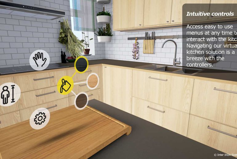 IKEA VR realite virtuelle