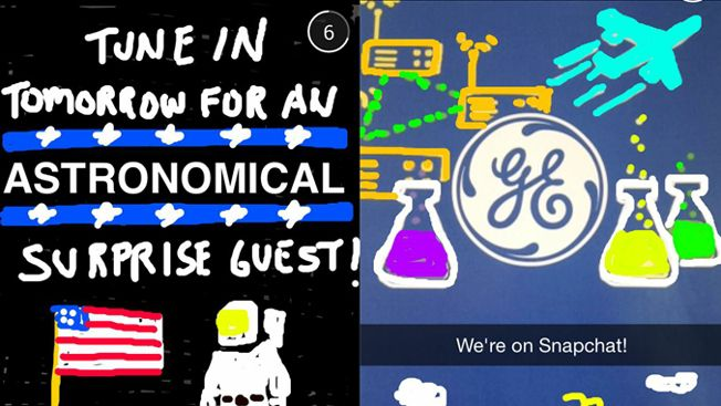 Snapchat General Electric