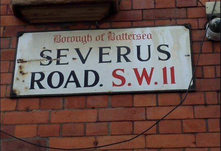 Nom de la rue qui a inspiré J.K. Rowling pour le prénom de Severus Rogue