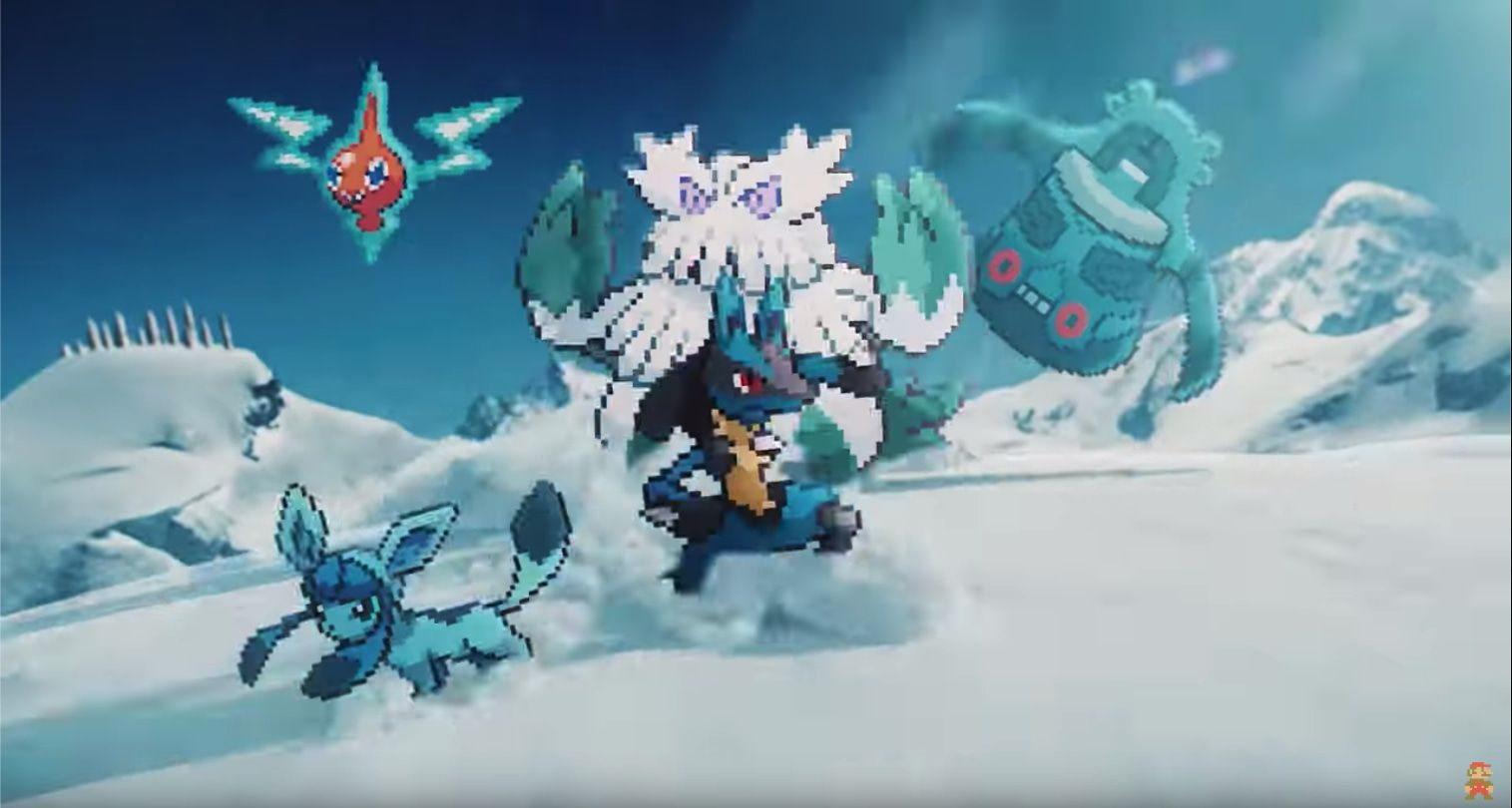 Quatrième génération de Pokémon…