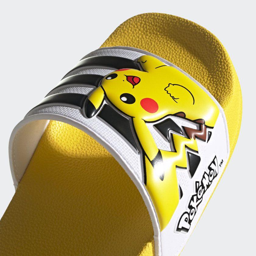 Claquettes Adidas x Pokémon