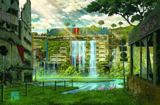 artworks tokyo post-apocalyptique ikebukuro