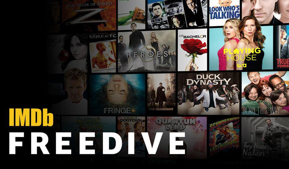 IMDb Freedive le nouveau service de streaming d'Amazon propose du contenu gratuit contre de la publicité