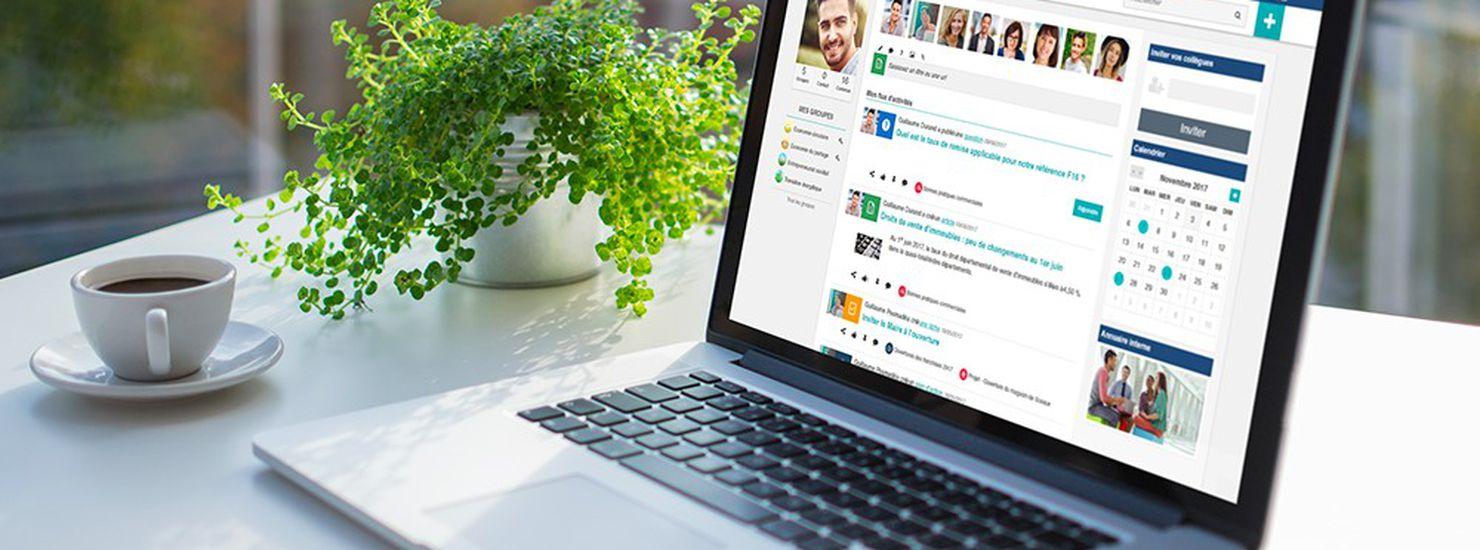 Jamespot réseau social d'entreprise