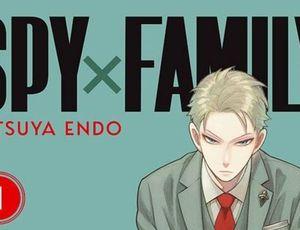 Couverture du premier tome de SPY×FAMILY