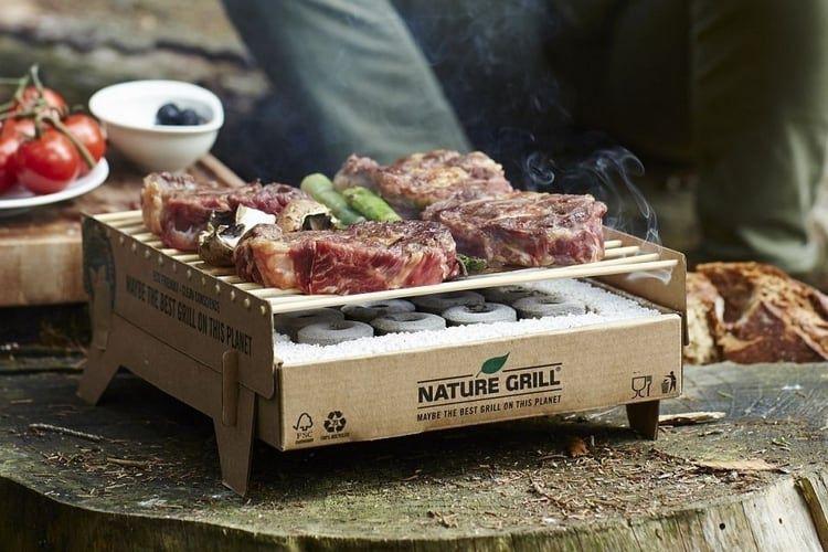 CASUS GRILL Barbecues jetables avec barbecue au charbon de