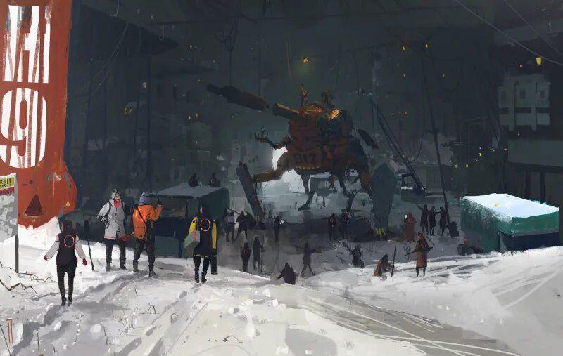 Artworks Cyberpunk