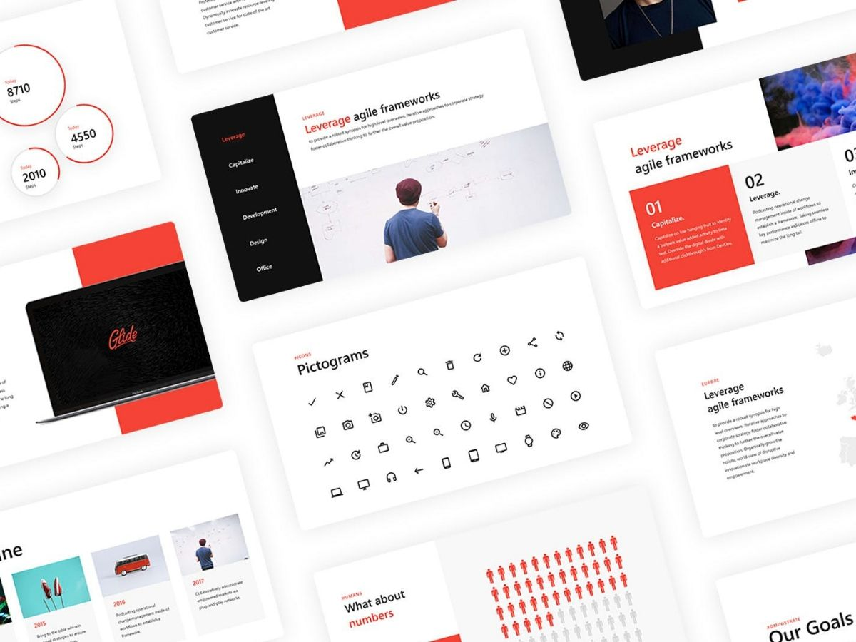 Glide Une Collection De Plus De 80 Templates Powerpoint
