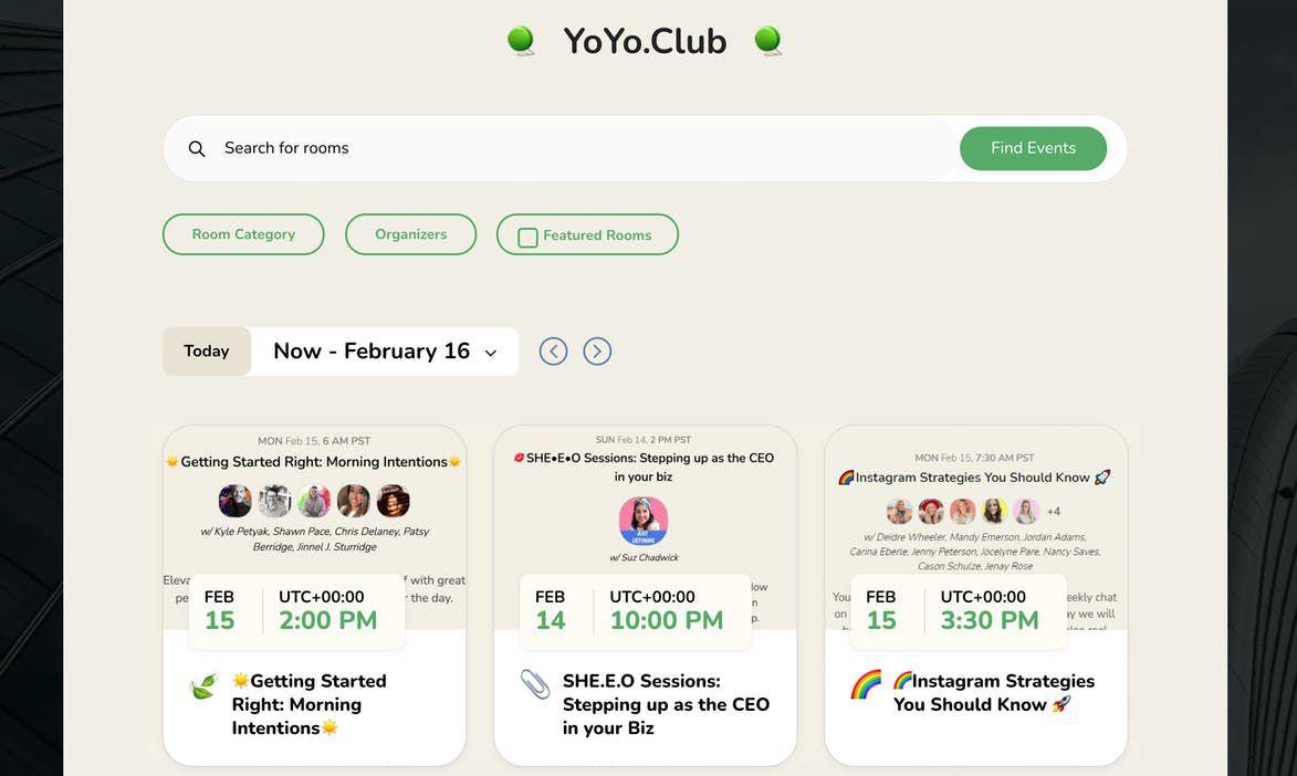 YoYo Club aperçu