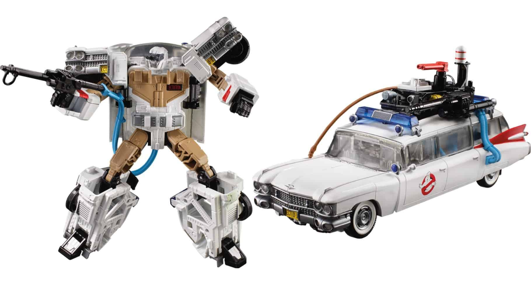 Voiture Ghostbusters Transformers