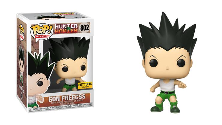 hunter x hunter figurines funko pop gon freecss
