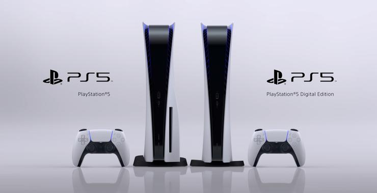 Les deux modèles de la PlayStation 5
