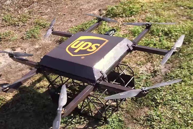 ups drone